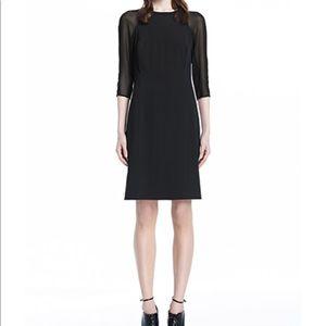 J Brand Dress Size 0 Sheer Sleeves